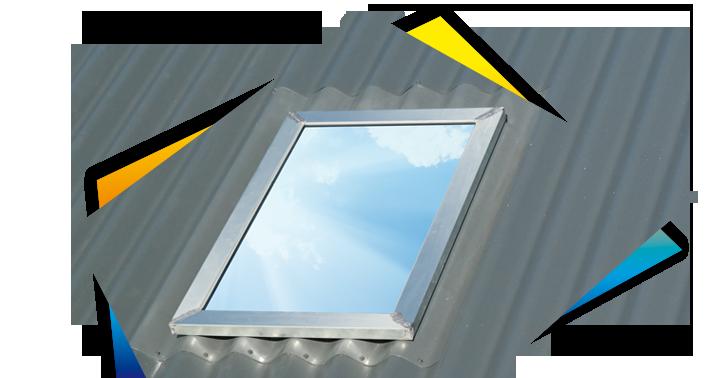 voor dakpanelen van Falk  bouwsystemen